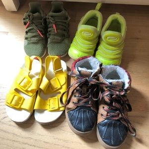 Toddler boy shoes lot